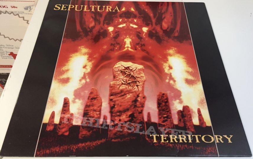 Sepultura Territory (12) lp