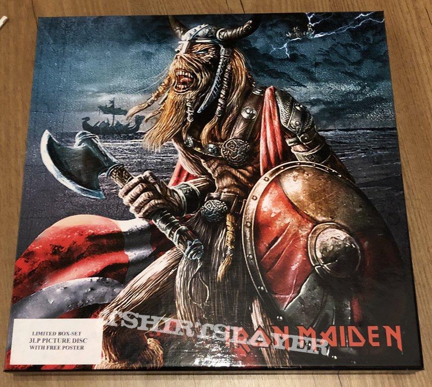 Iron Maiden 3 lp picture disc boxset Stockholm Sweden June 28 2003