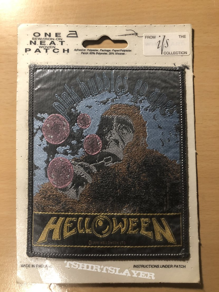 Helloween patch pink bubbles go ape
