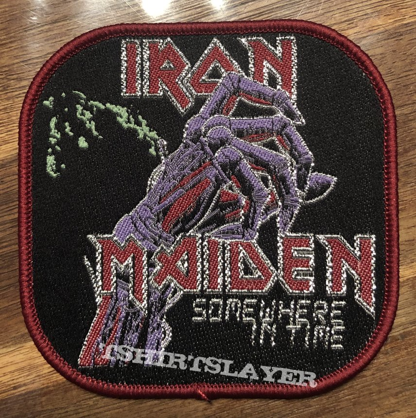 Iron Maiden somewhere in time sqare patch