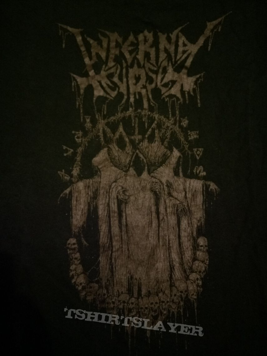 "Infernal Curse(Arg) ""Awakening Of The Damned Tour"" T-Shirt"