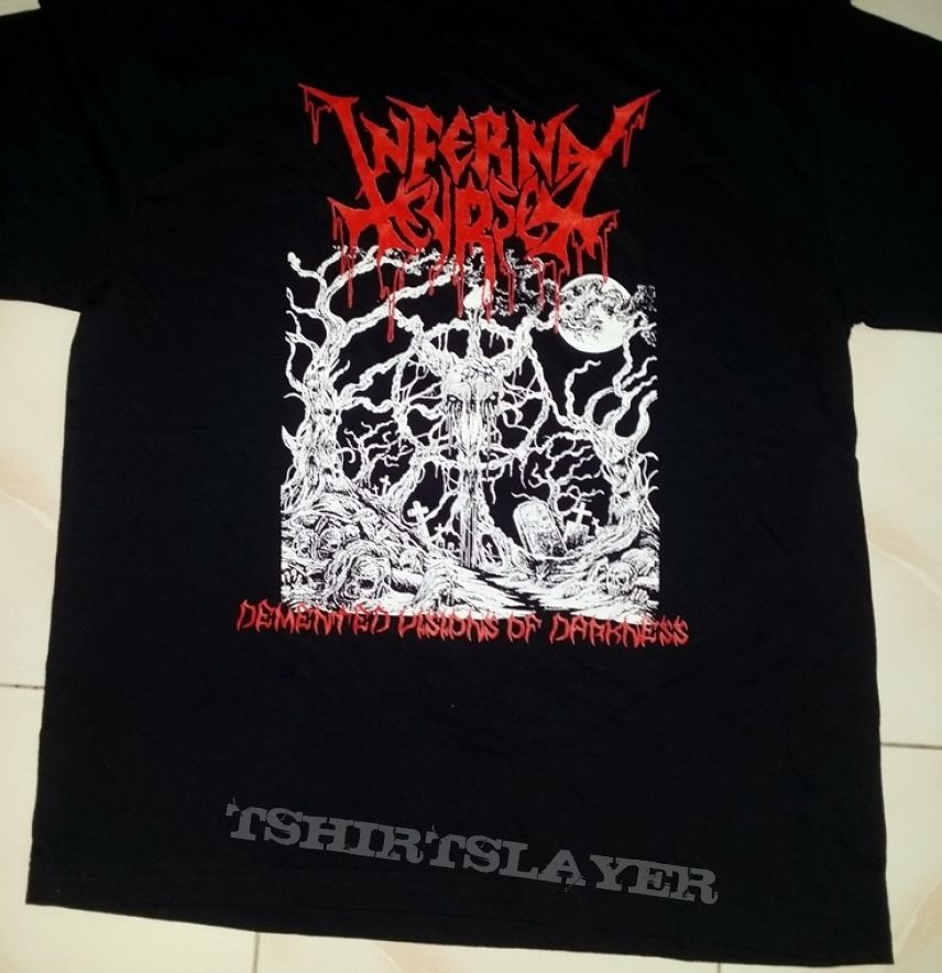 "Infernal Curse(Arg) ""Demented Visions of Darkness"" TS NW XL"