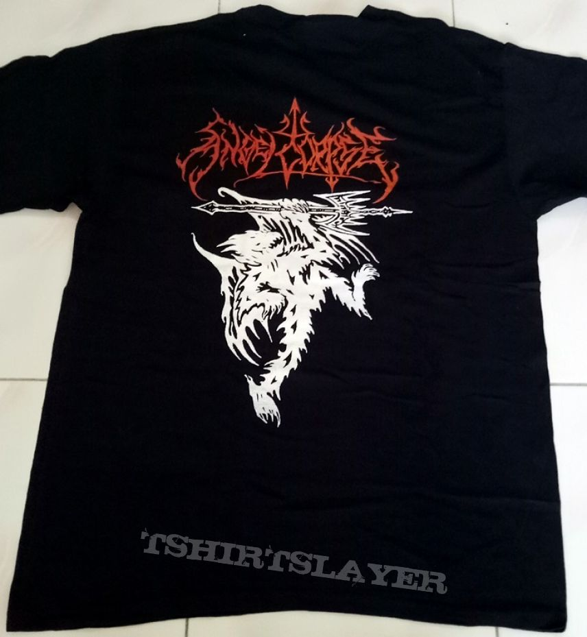 "Angelcorpse ""Hammer Of Gods"" T-Shirt"