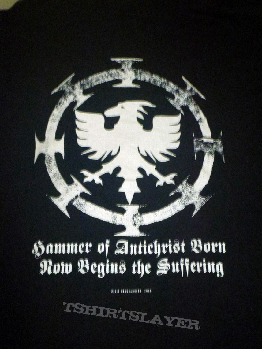 "Conqueror ""Hammer Of Antichrist"" T-Shirt"