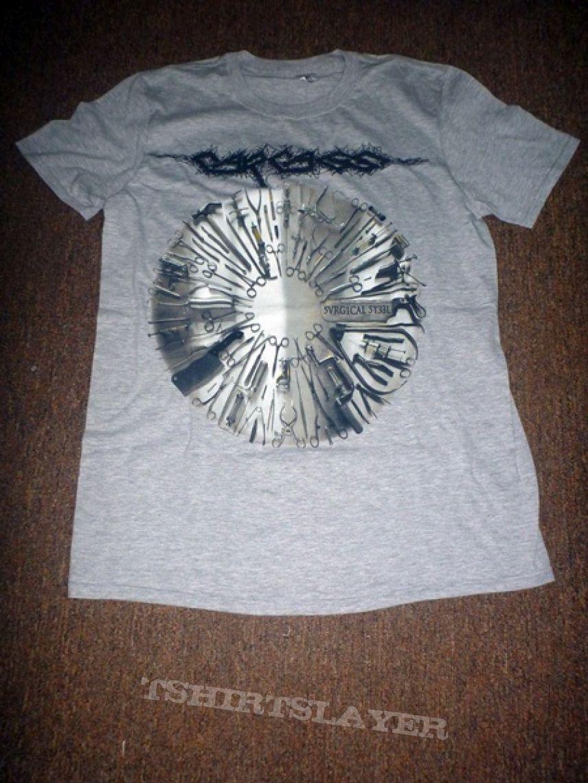 Logo Grey T-shirt Fanartikel & Merchandise Carcass