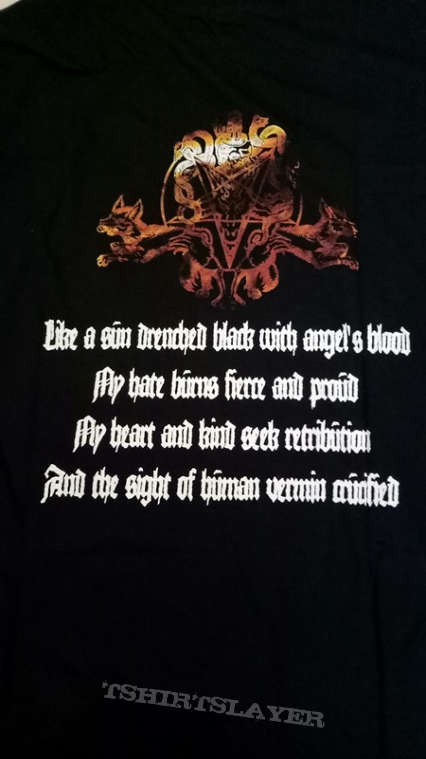 """Angelcorpse """"Of Lucifer And Lighting"""" T-Shirt"""