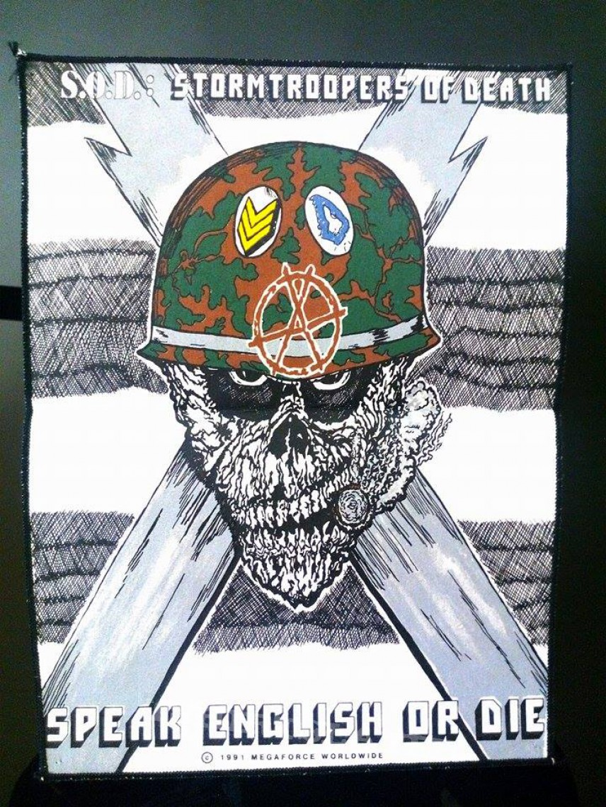 S.O.D Backpatch