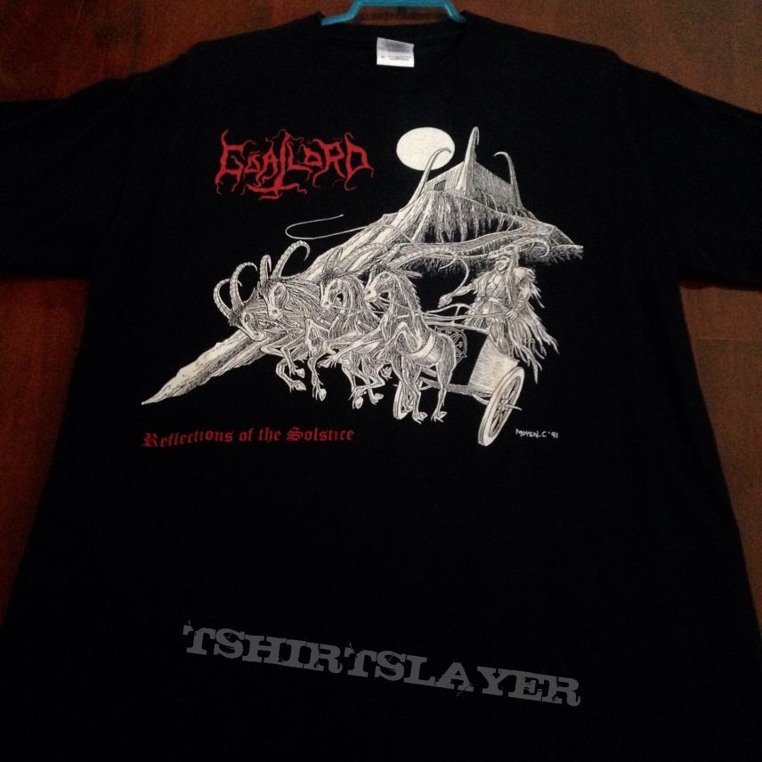 Goatlord - Reflections of the Solstice shirt