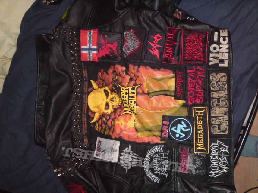 Leather jizz rag