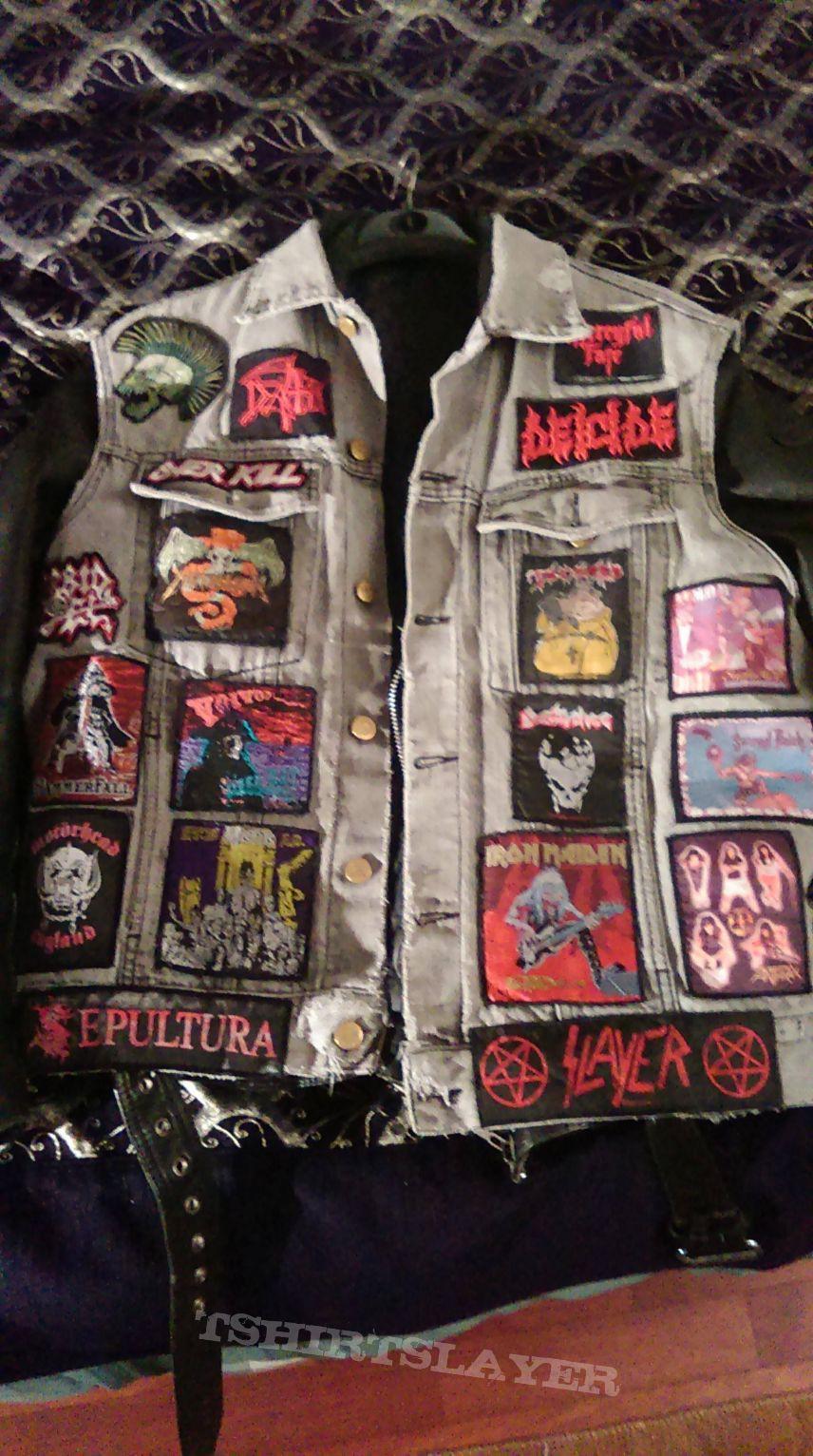 My early teenage Battle jacket