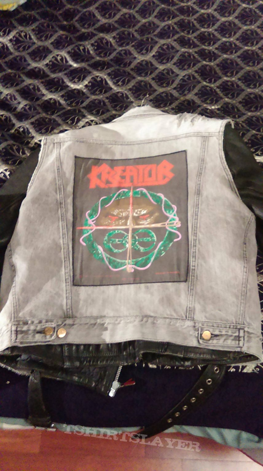 My early teenage Battle jacket