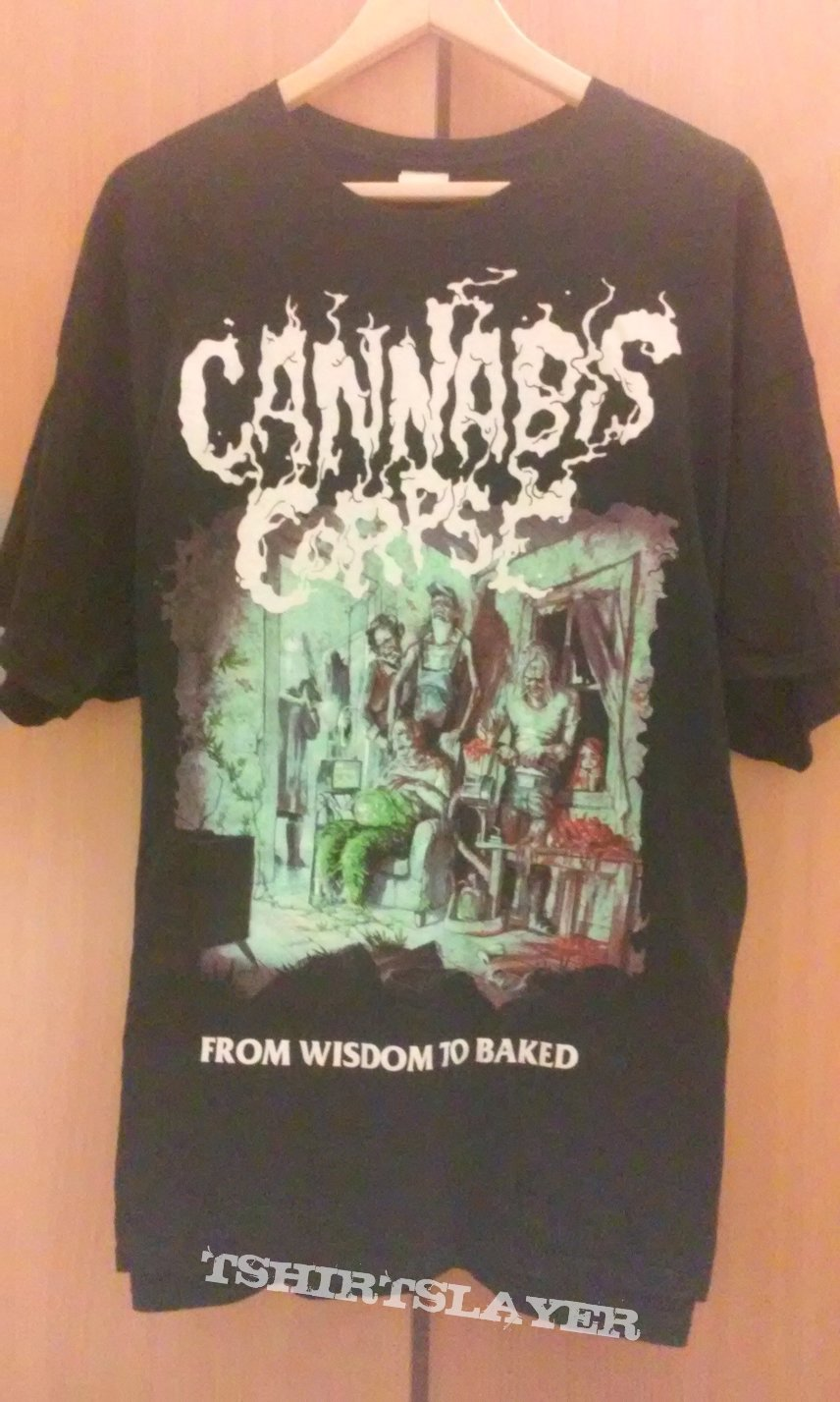 "Cannabis Corpse ""From wisdom to baked"" T-Shirt"