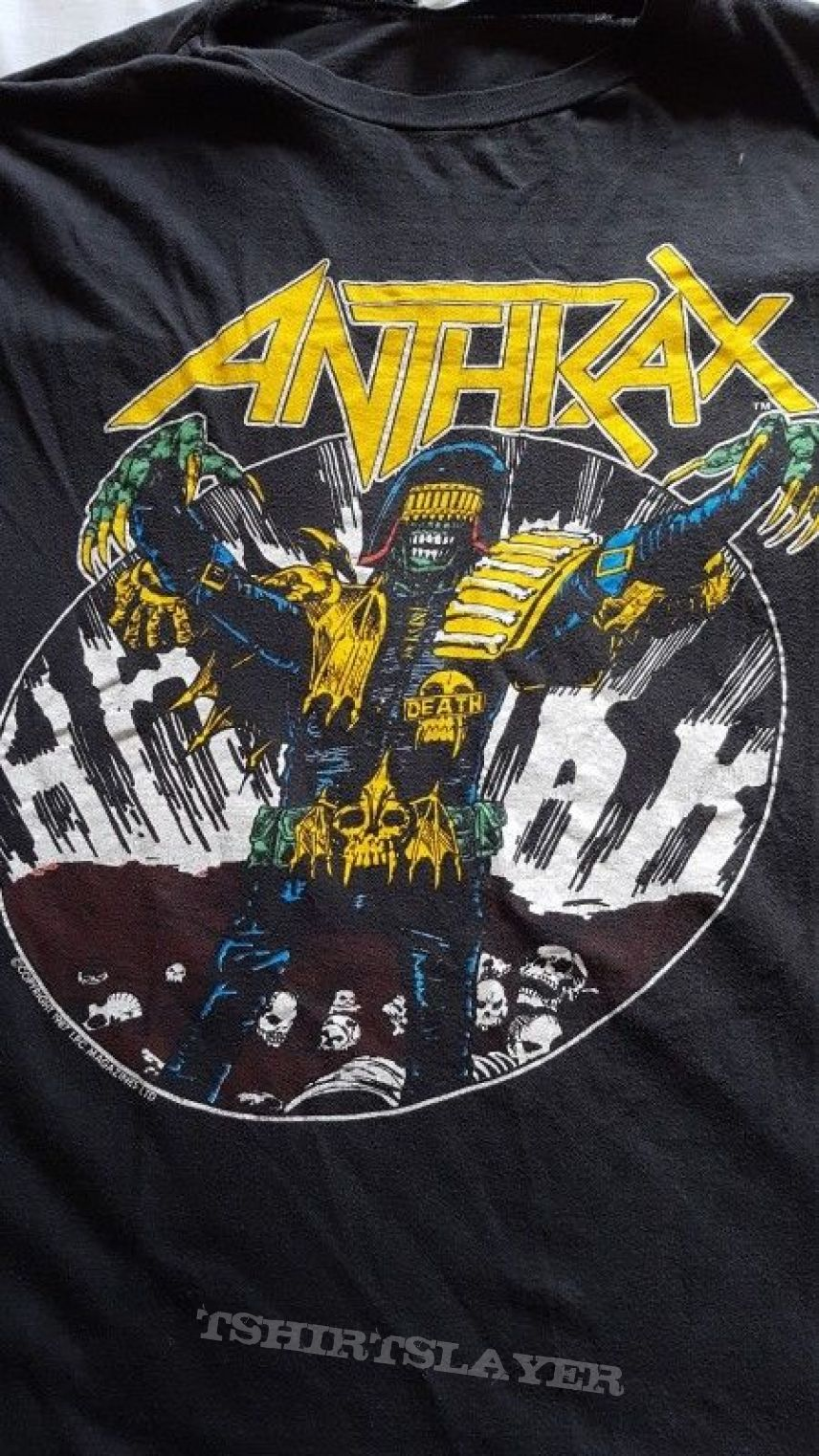 Anthrax - Among The Living Phase 2