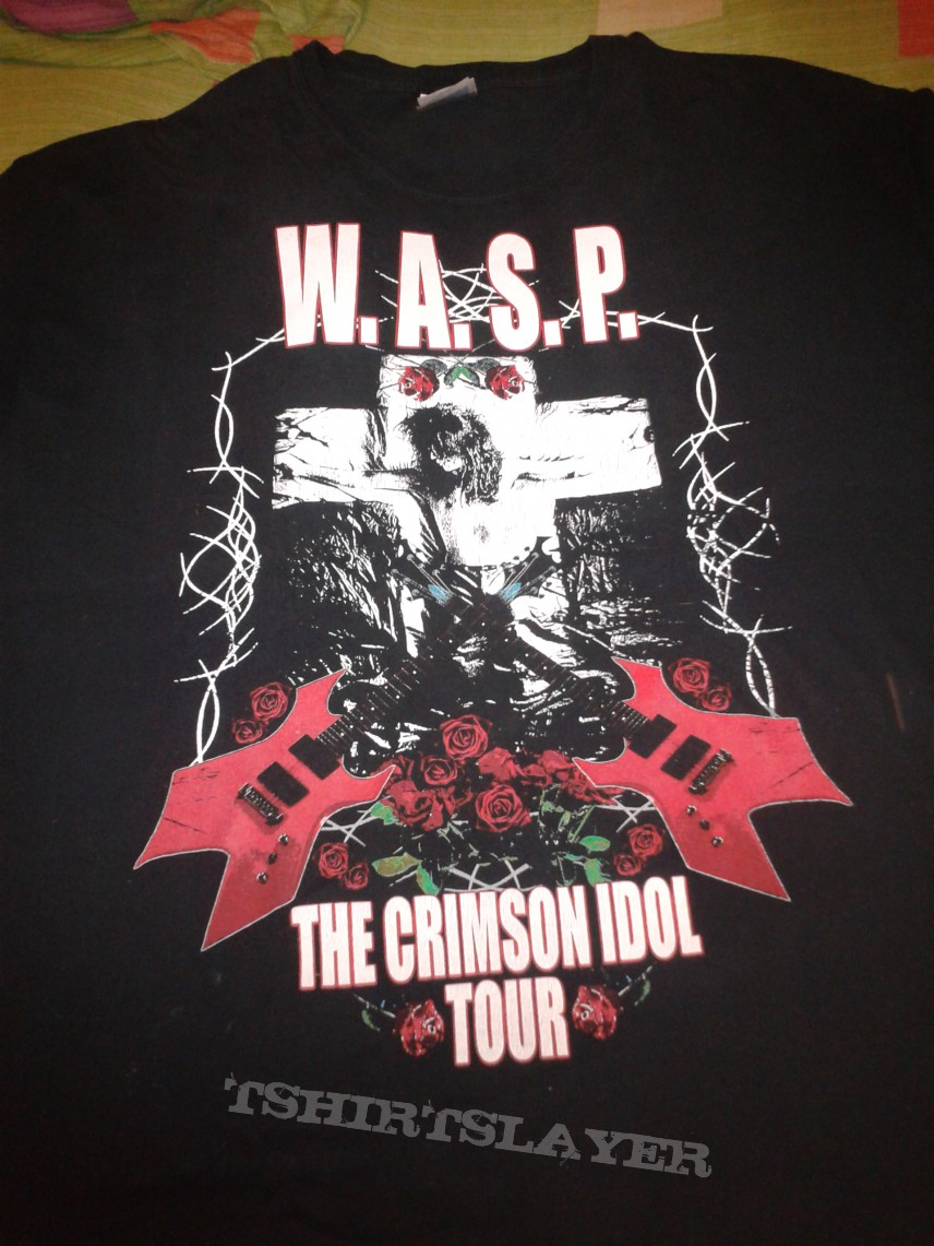 Tour Of The Crimson Idol Tshirtslayer Tshirt And