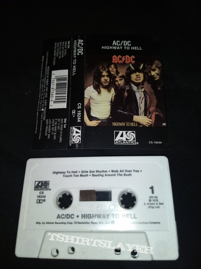 Tape AC / DC - Highway To Hell
