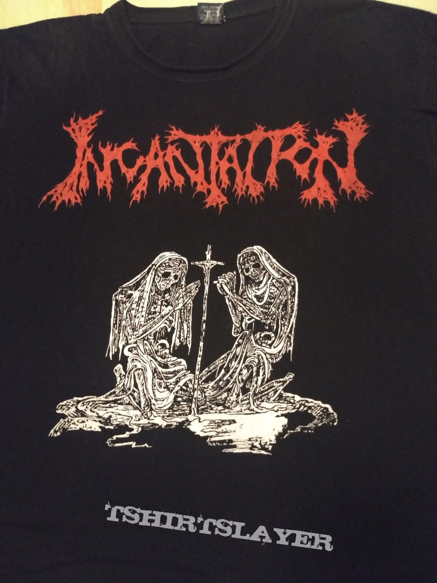 "T Shirt Incantation - "" Deliverance of Horrific Prophecies  ( Bootleg ) """