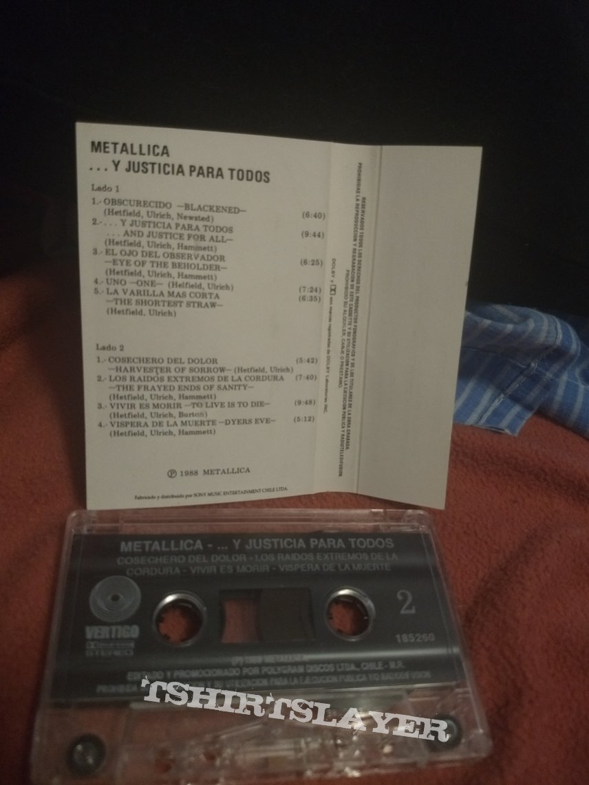 "Tape Metallica - "" ... And Justice For All """