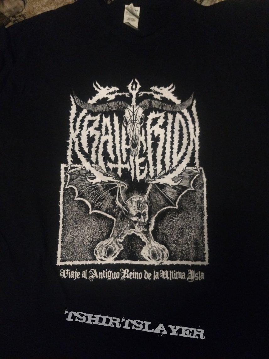 """T Shirt Kratherion - """" Viaje Al Antiguo Reino De La Ultima Isla """""""