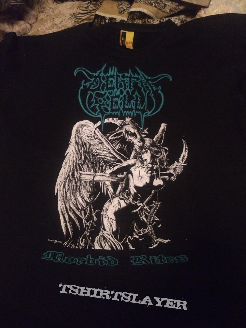 """T Shirt Death Yell - """" Morbid Rites """""""