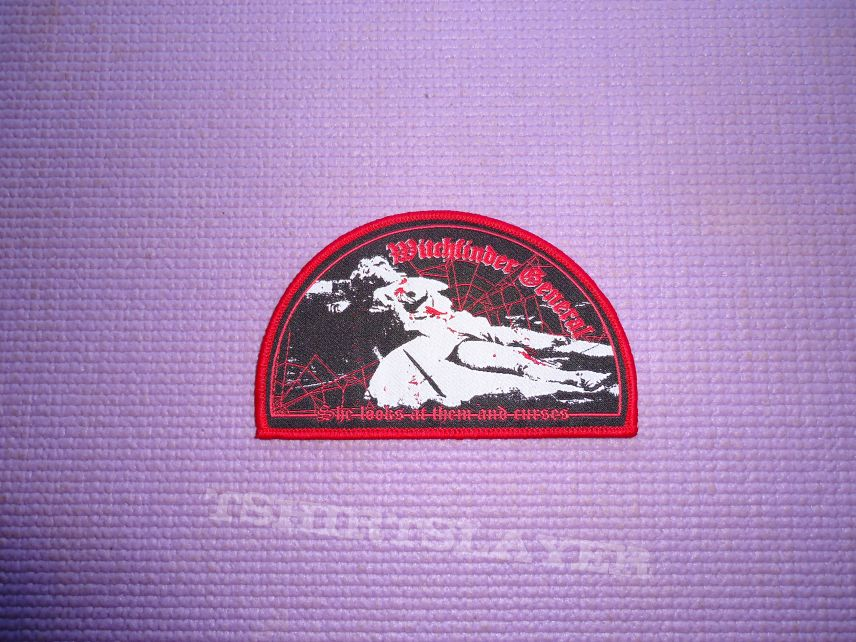 Witchfinder General woven patch