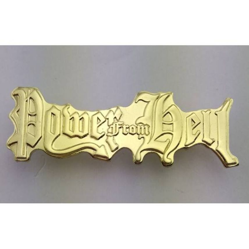 Official POWER FROM HELL pin golden!!