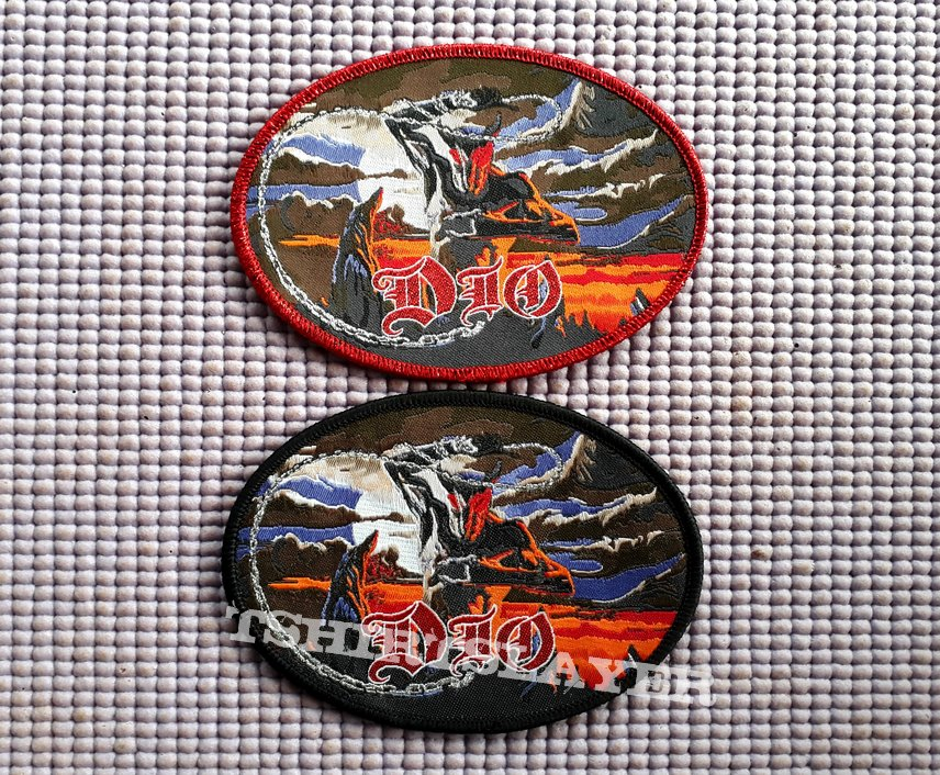 Dio Holy Diver oval woven!