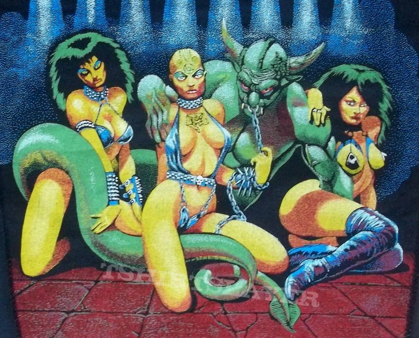 Celtic Frost original 80's back patch