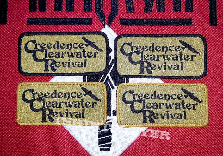 CREEDENCE woven patches!