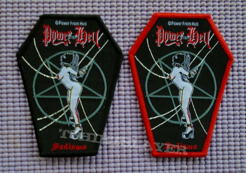 Power from hell the true metal patch | tshirtslayer tshirt and.