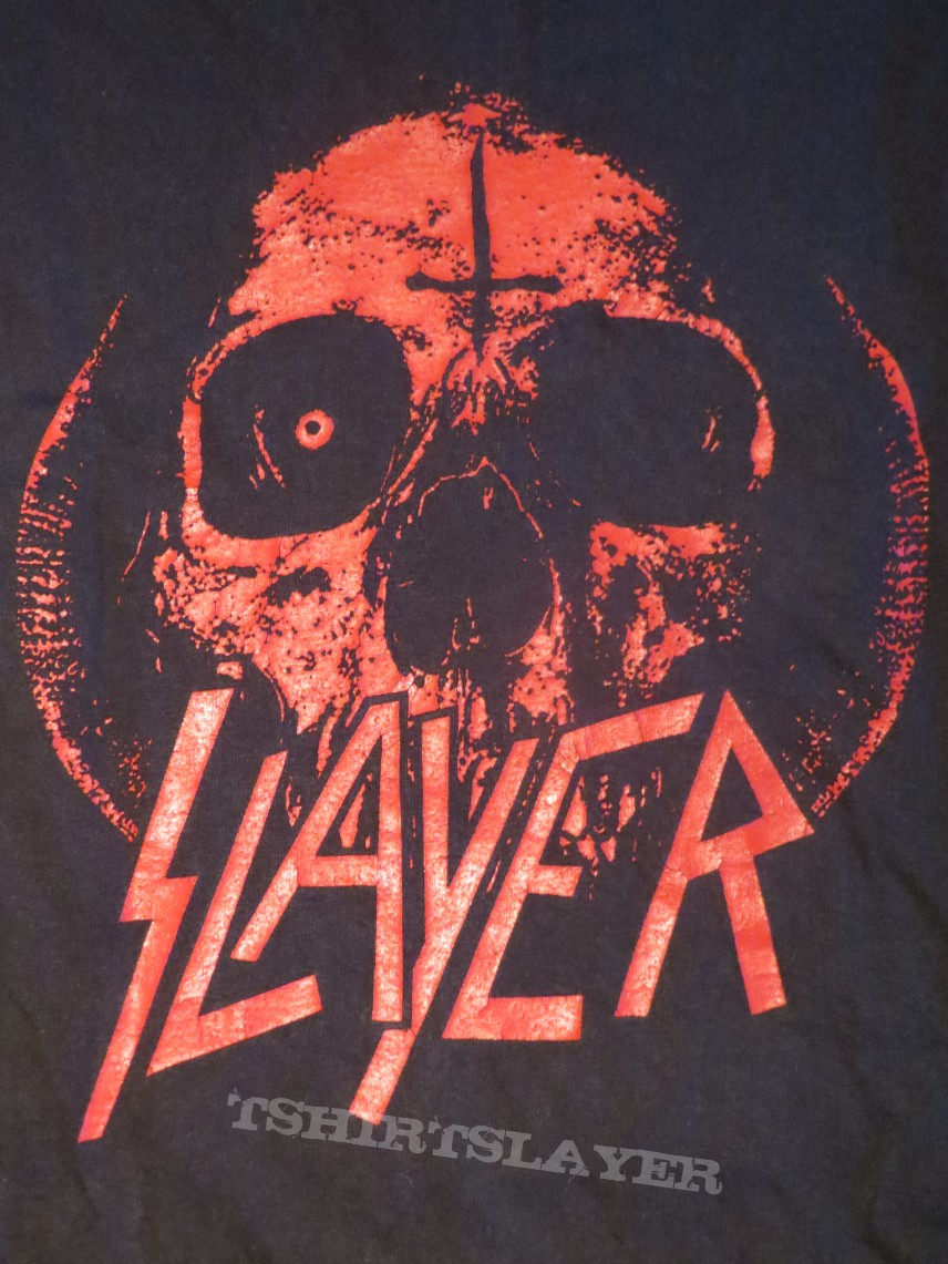 Slayer - Dagger & Skull cutoff | TShirtSlayer TShirt and ...
