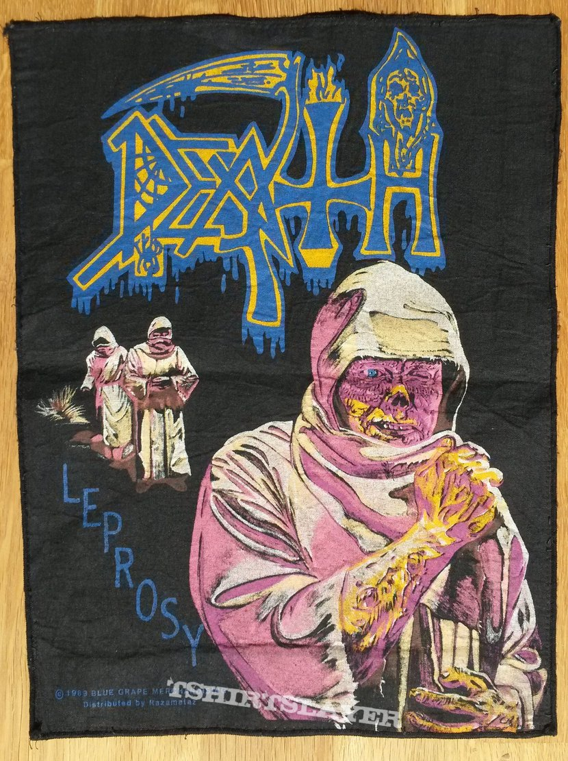Death Leprosy Backpatch