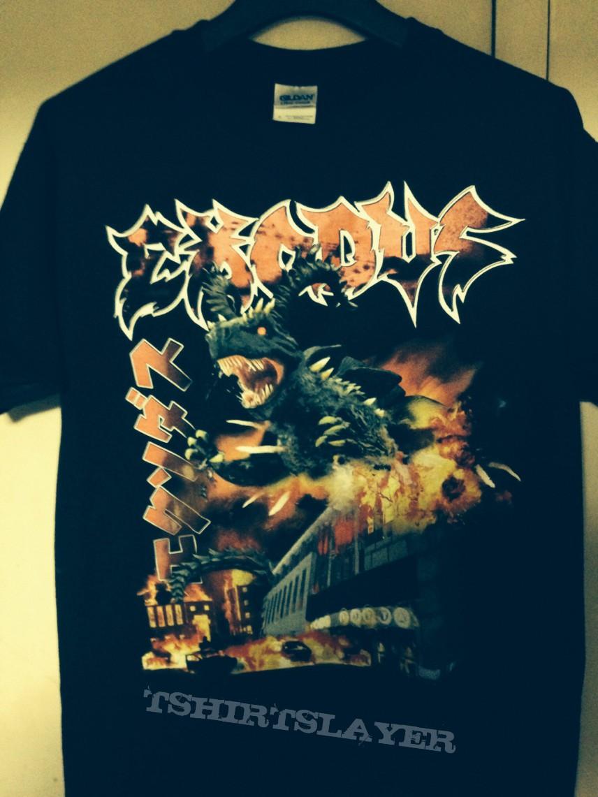 Exodus Goat Godzilla is destroying Club Citta Kawasaki T-shirt