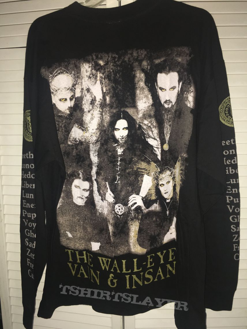 Cradle of Filth Wall Eyed, Vain & Insane LS Shirt