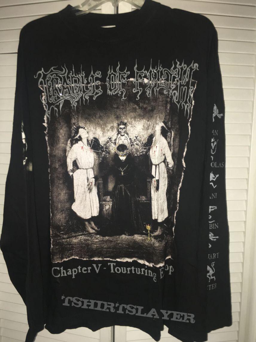 Cradle Of Filth Chapter V Tourturing Europe
