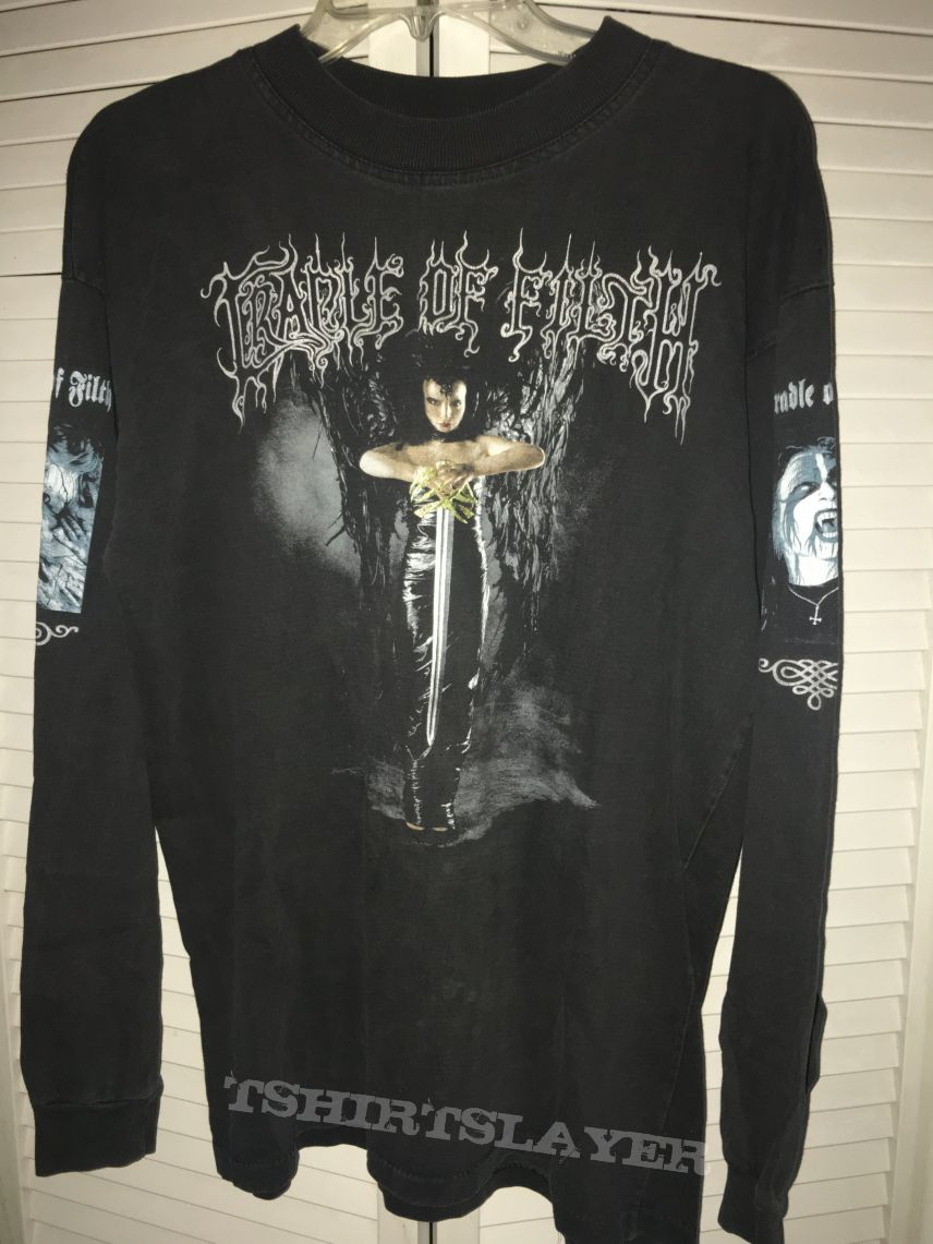 Cradle Of Filth Lovelorn Gothic Darkness Shirt 1994? 1995?