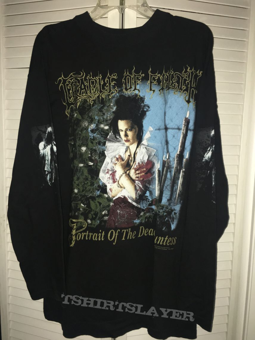 Cradle Of Filth Portrait Of The Dead Countess Shirt