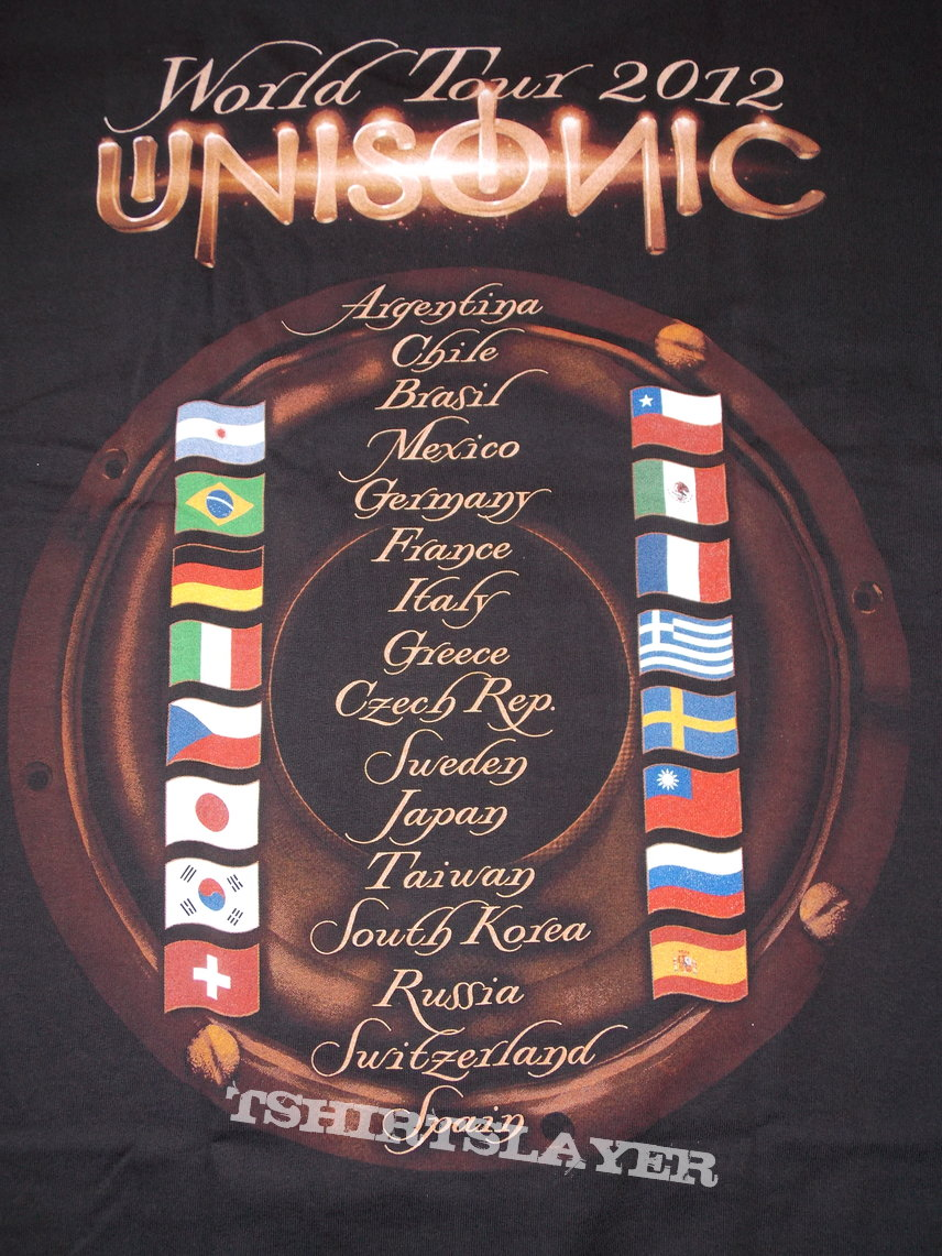 2012 Tour Shirt - countries