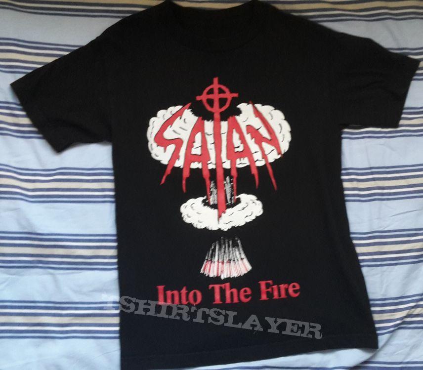 Satan Into the Fire shirt