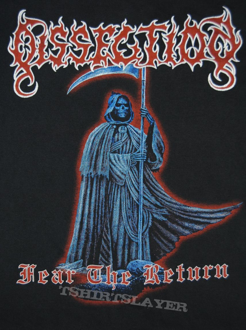 Dissection Fear the Return Shirt