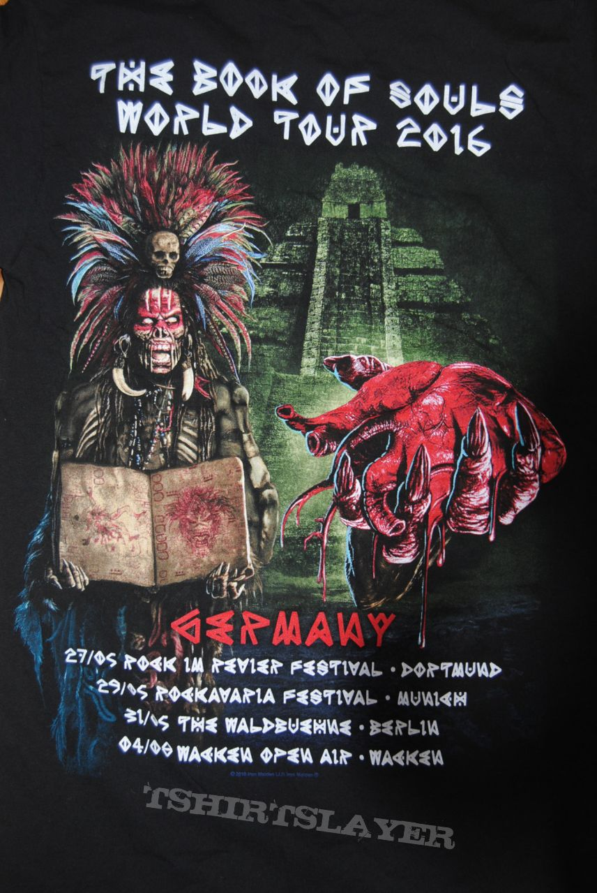 Iron Maiden Germany Event Shirt 2016