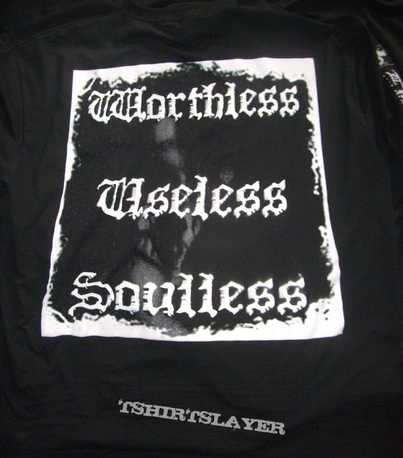 Make a Change... Kill Yourself - Worthless, Useless, Soulless Longsleeve