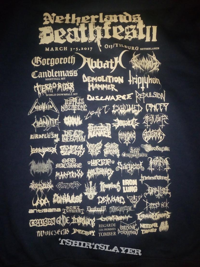 Netherlands Deathfest 2017 hoodie