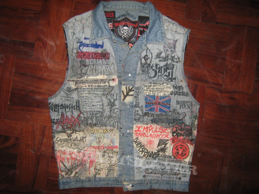 Main jacket inner art part I: front