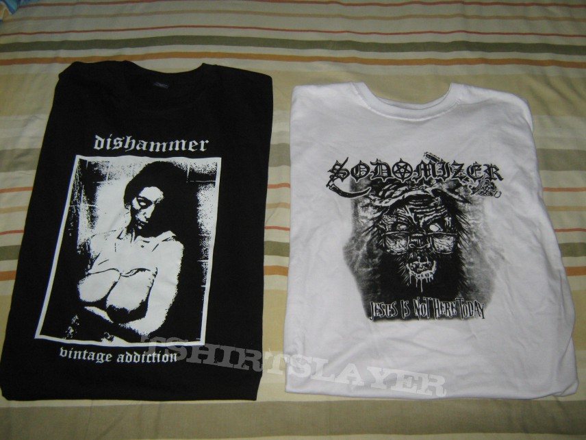 some new bootleg t-shirts