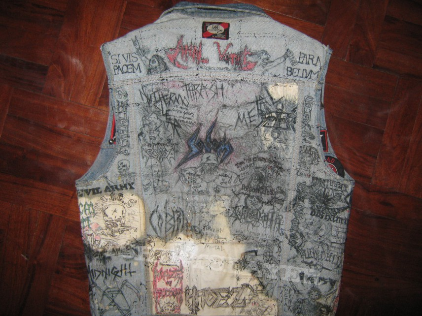 Main jacket inner art part II: back