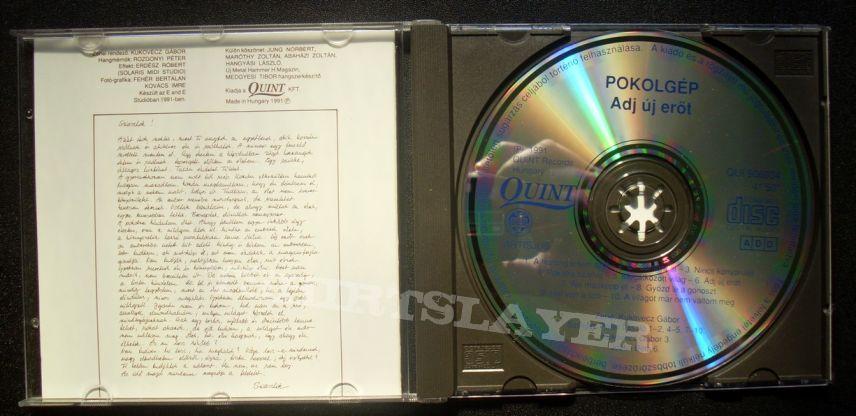 Pokolgep Adj új erőt original cd 1991!!!