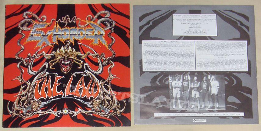 EXHORDER the law original LP 1992!