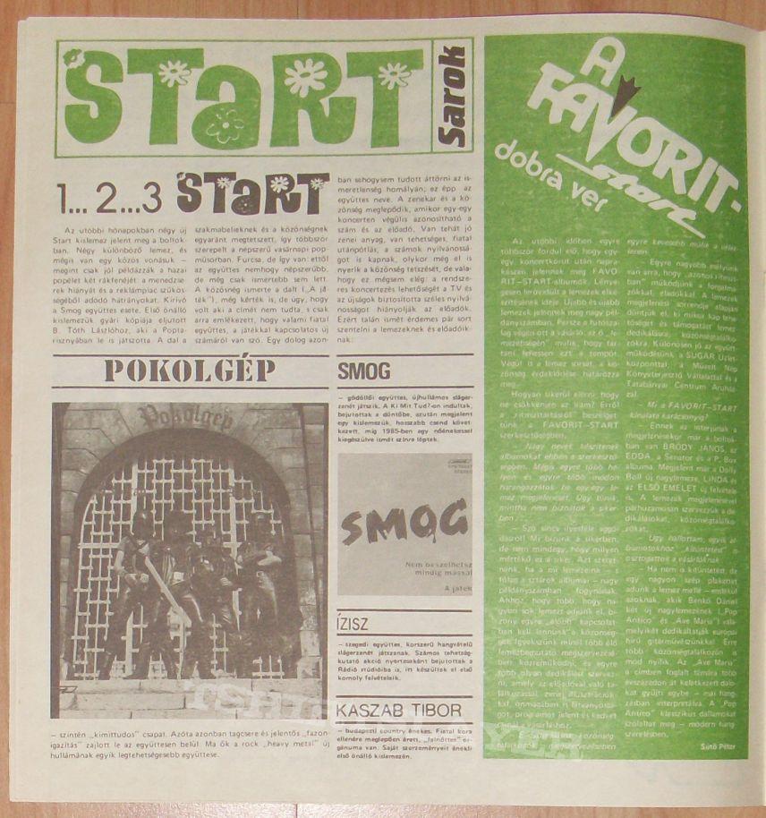 PICK UP rare christmas LP 1985 includes POKOLGÉP!