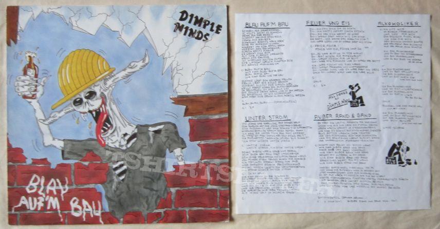 DIMPLE MINDS Blau aufm bau vinyl