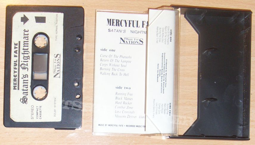 MERCYFUL FATE Satans nightmare cassette!!!
